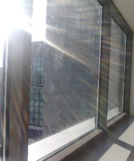 Hard Water Stains and Mineral Stain - Window Cleaning and Restoration