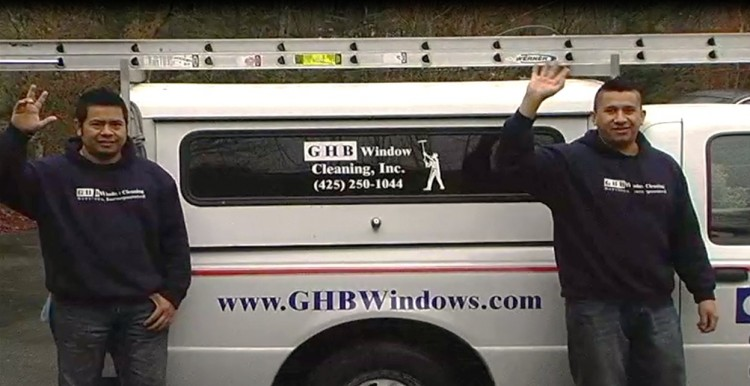 GHB Window Cleaning Team