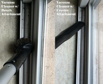 Window Track Vacuum