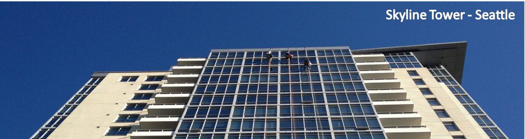 Mt Baker Commercial High Rise Window Cleaning
