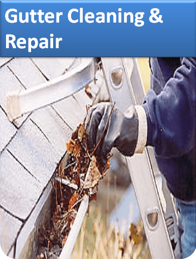 Gutter Cleaning & Repair Button